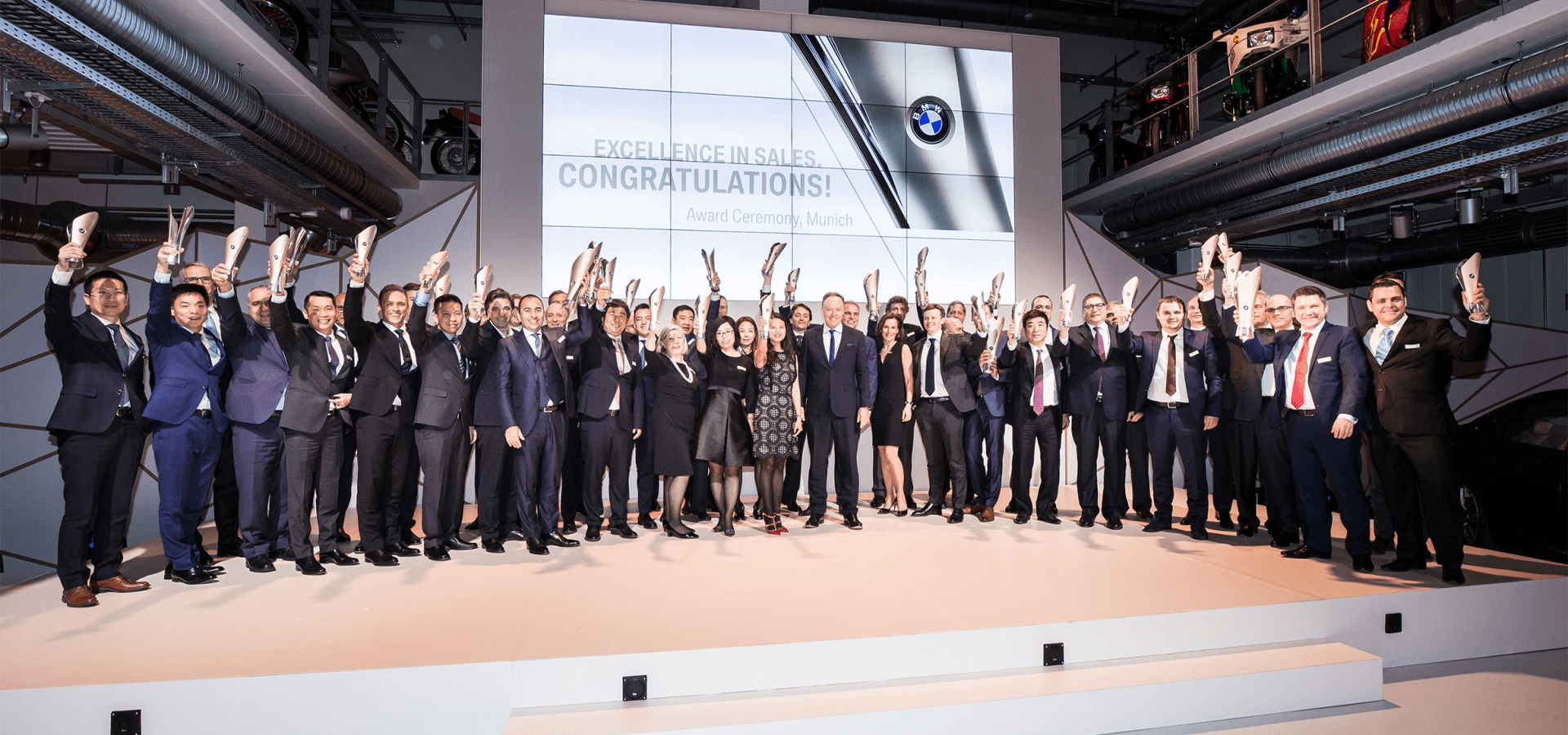 BMW Excellence in Sales award 2017