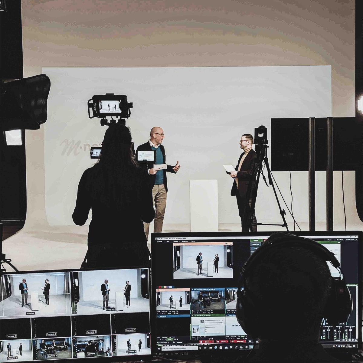 Digitales Event Keynote