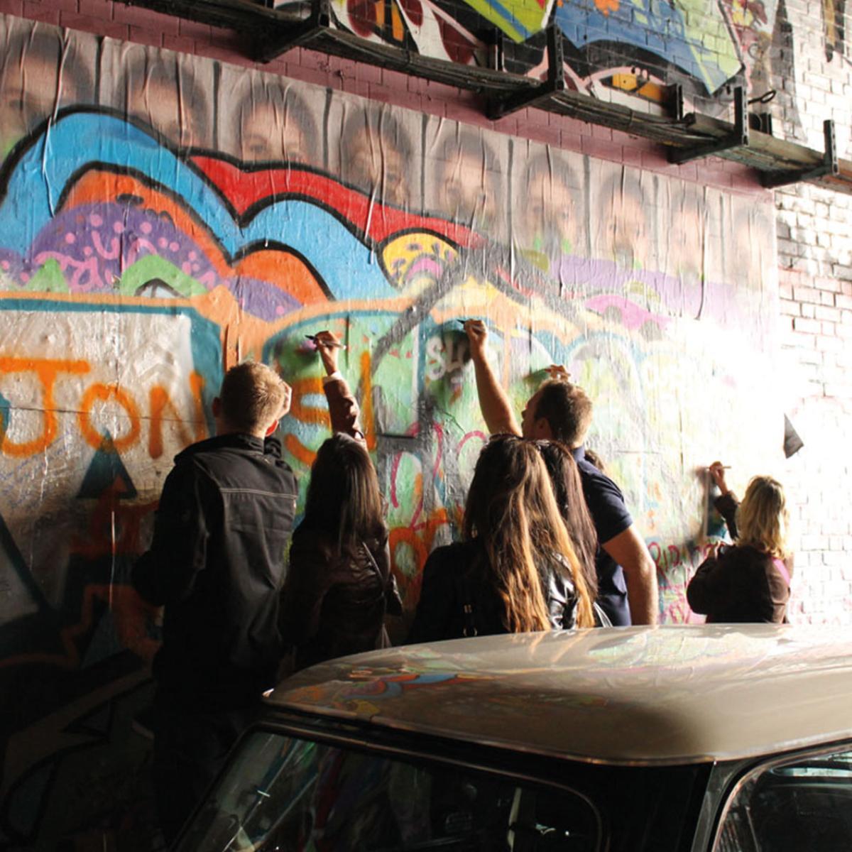 Graffiti in an Urban Area of London